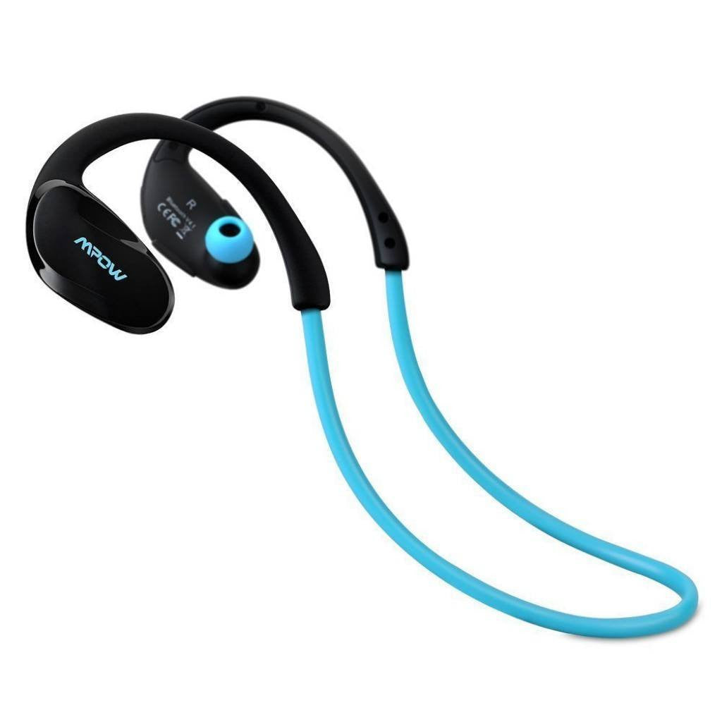 MPOW Cheetah Sports Bluetooth In Ear Kopfhörer blau - von SupplyRevolution