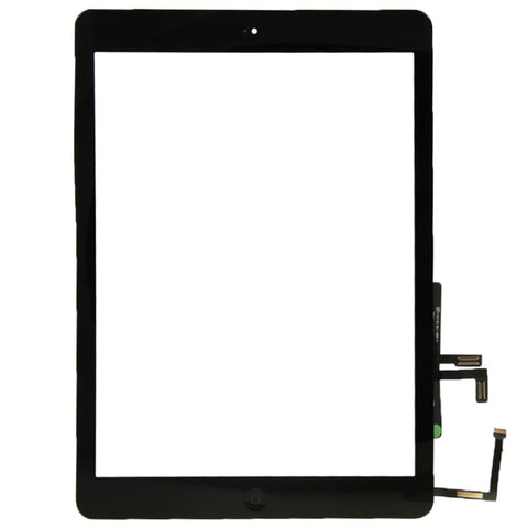 iPad Air / iPad 5G Touchscreen Digitizer Glas mit Home Buttom Flex schwarz