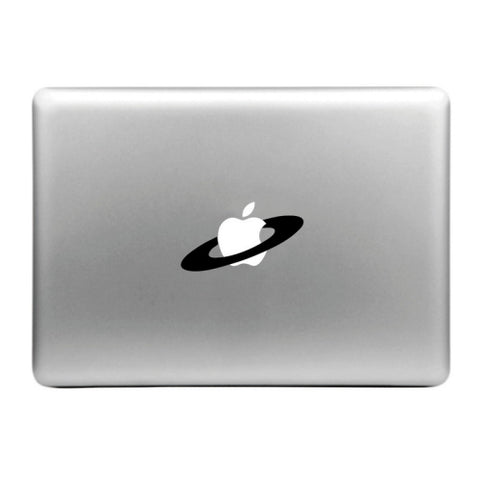 MacBook Apfel Sticker Tattoo Saturn Ring