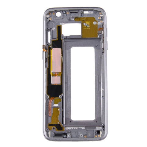 Samsung G935F Galaxy S7 Edge LCD Digitizer Display grau (mit Rahmen)
