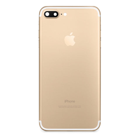 iPhone 7 PLUS Back Cover Rückseite Gehäuse gold