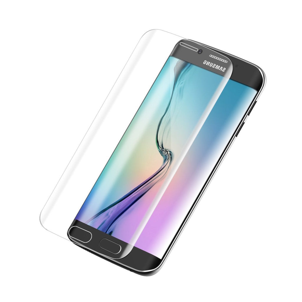 Samsung G925F Galaxy S6 Edge Displayschutzfolie Hartglas 0.26mm - von SupplyRevolution