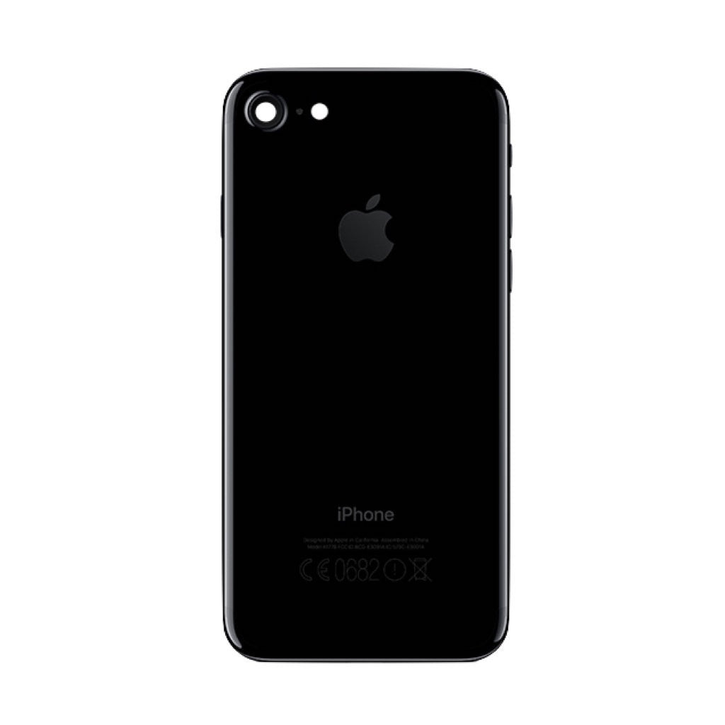 iPhone 7 Back Cover Rückseite Gehäuse jet black - von SupplyRevolution