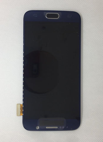 Samsung G920F Galaxy S6 LCD Digitizer Display mit Rahmen schwarz (dark blue)