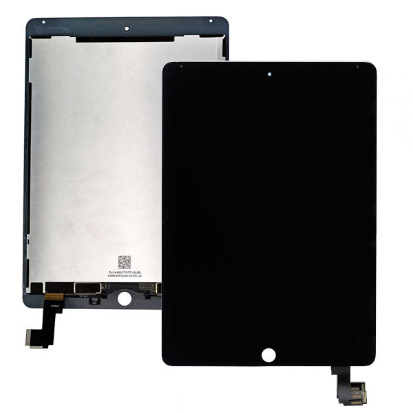 iPad Air 2 LCD Digitizer Display (SmartCover-Sensor umlöten) schwarz - von SupplyRevolution