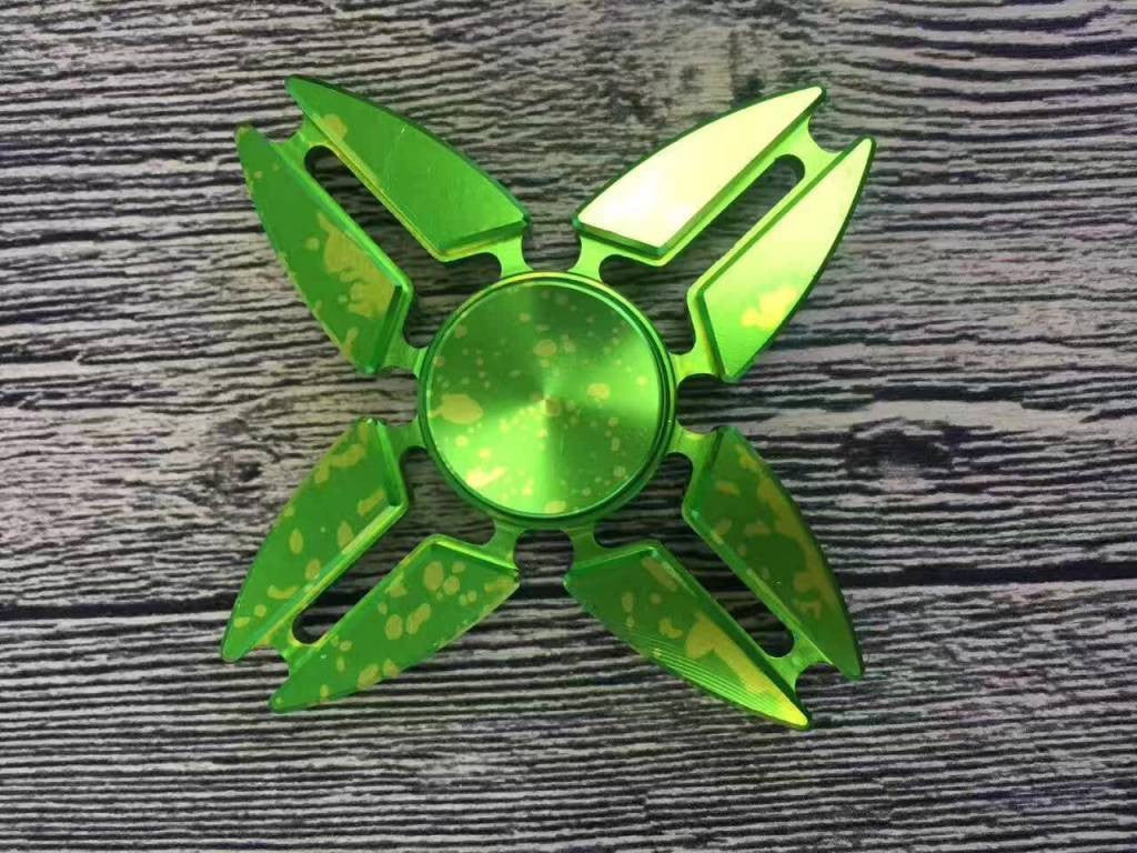 Fidget Spinner Argyle Dart in grün - von SupplyRevolution