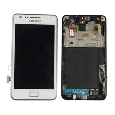 Samsung i9100 Galaxy S2 LCD Digitizer Display weiss