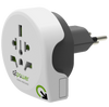 q2power World to Switzerland Reiseadapter (3-Pol. Typ J, UK, AUS, IT, USA) - von SupplyRevolution