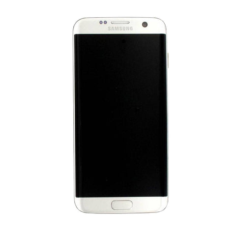 Samsung G935F Galaxy S7 Edge LCD Digitizer Display silber (mit Rahmen)