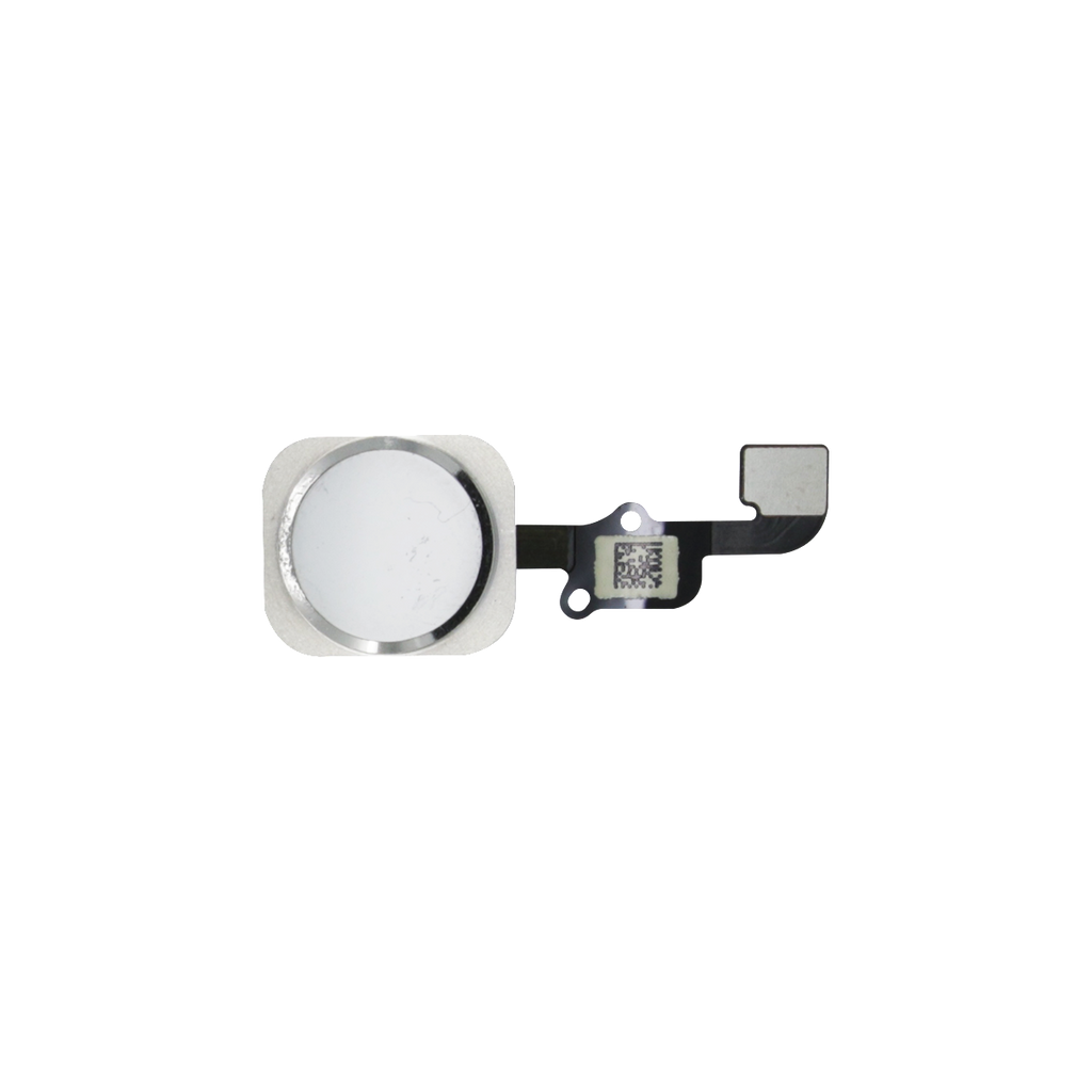 iPhone 6S/6S PLUS Home Button Flex Kabel weiss/silber - von SupplyRevolution
