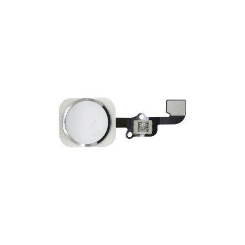 iPhone 6S/6S PLUS Home Button Flex Kabel weiss/silber