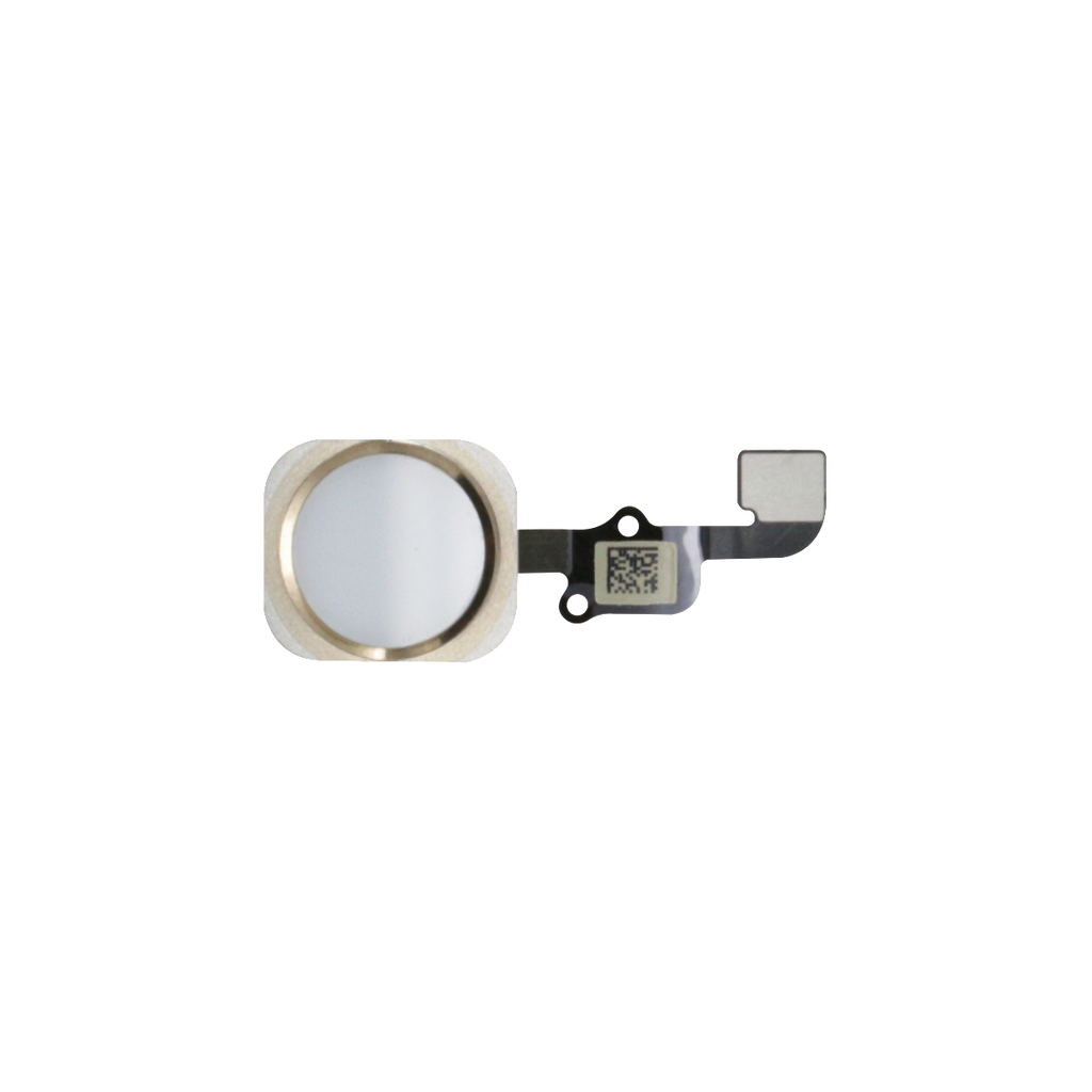 iPhone 6S/6S PLUS Home Button Flex Kabel weiss/gold - von SupplyRevolution