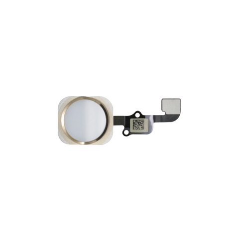 iPhone 6S/6S PLUS Home Button Flex Kabel weiss/gold