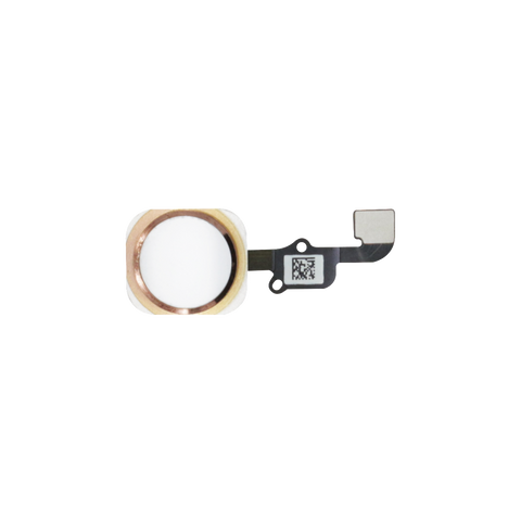iPhone 6S/6S PLUS Home Button Flex Kabel weiss/rose gold