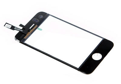 iPod touch 3G Touchscreen Digitizer Glas schwarz