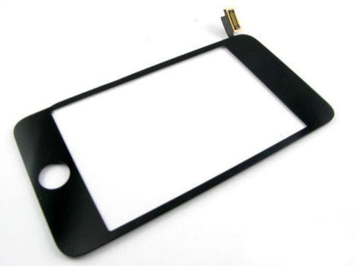 iPod touch 2G Touchscreen Digitizer Glas schwarz - von SupplyRevolution