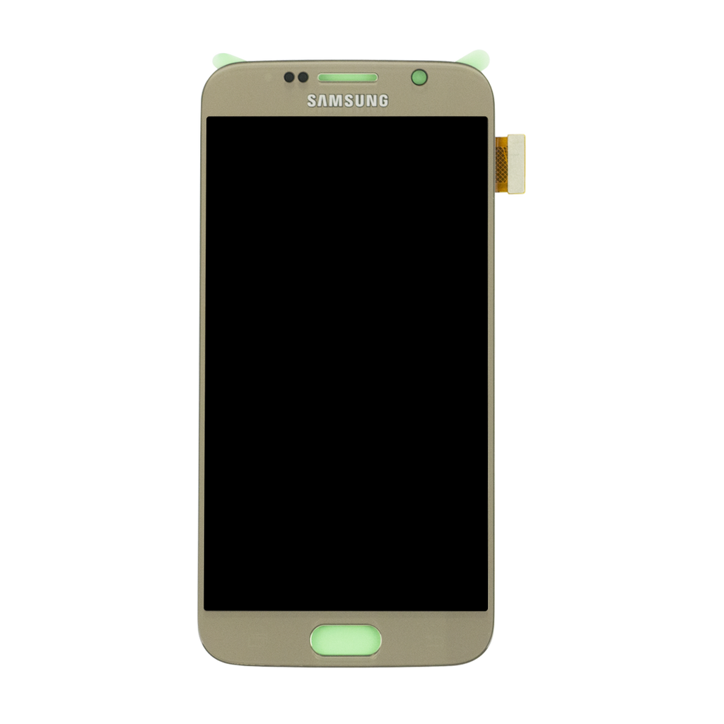 Samsung G920F Galaxy S6 LCD Digitizer Display gold - von SupplyRevolution