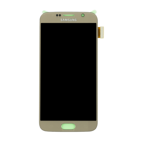 Samsung G920F Galaxy S6 LCD Digitizer Display gold