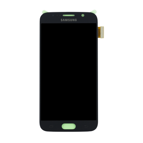 Samsung G920F Galaxy S6 LCD Digitizer Display schwarz