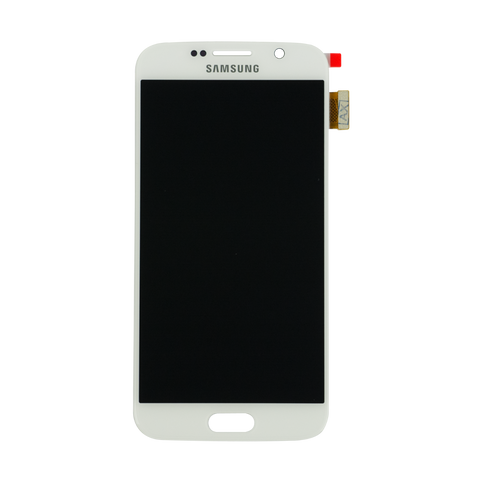 Samsung G920F Galaxy S6 LCD Digitizer Display weiss