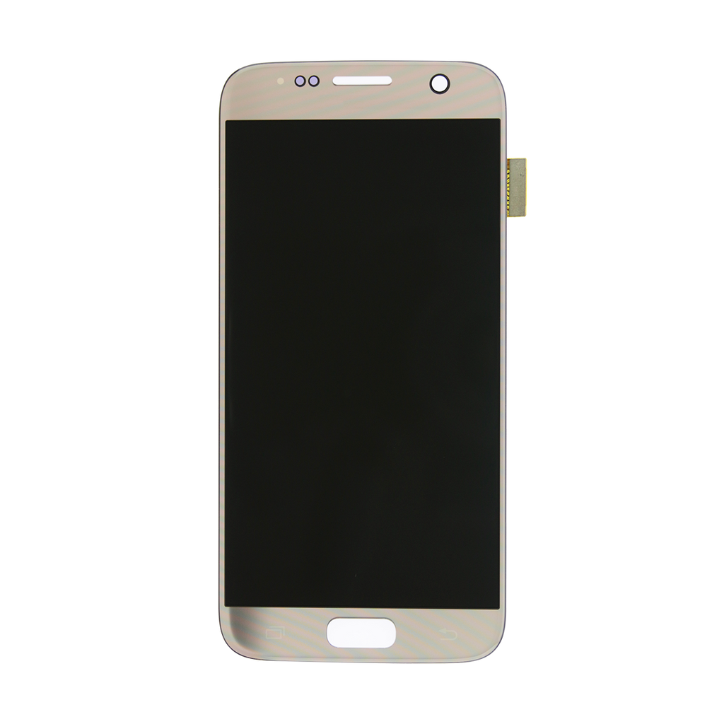 Samsung G930F Galaxy S7 LCD Digitizer Display gold - von SupplyRevolution
