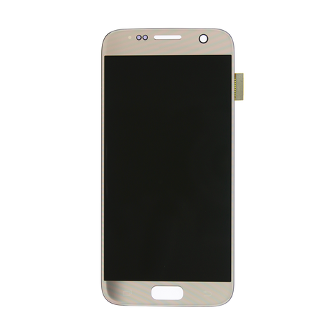 Samsung G930F Galaxy S7 LCD Digitizer Display gold