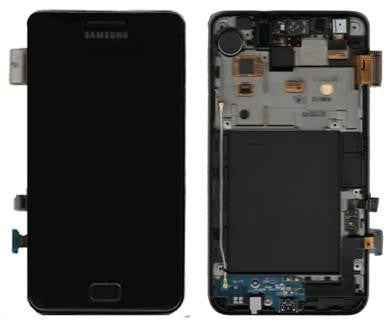 Samsung i9100 Galaxy S2 LCD Digitizer Display schwarz