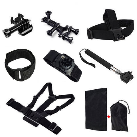 GoPro Hero 4/3+/3/2/1 Accessoire-Set 8 in 1 - Winter