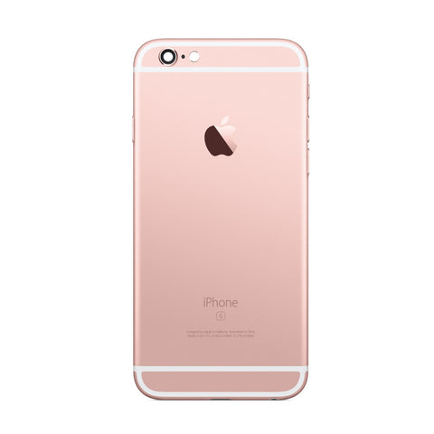 iPhone 6S Back Cover Rückseite Gehäuse rose gold