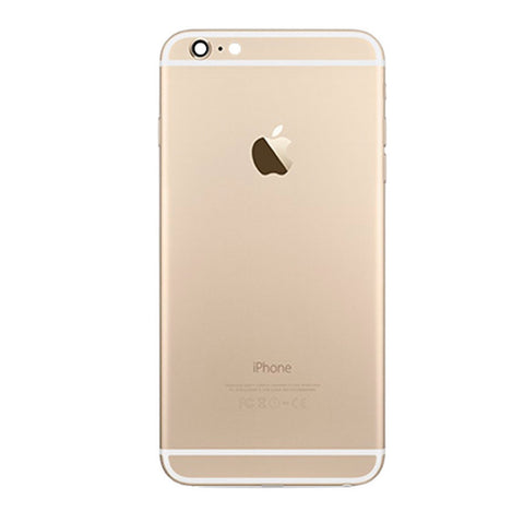 iPhone 6 PLUS Back Cover Rückseite Gehäuse gold