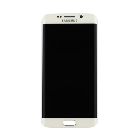 Samsung G925F Galaxy S6 Edge LCD Digitizer Display weiss