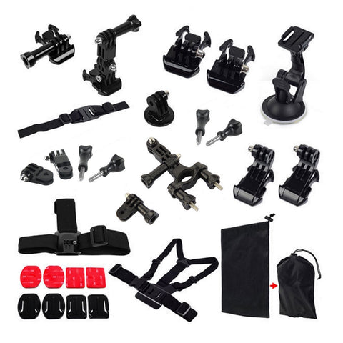 GoPro Hero 4/3+/3/2/1 Accessoire-Set 16 in 1 - Bike