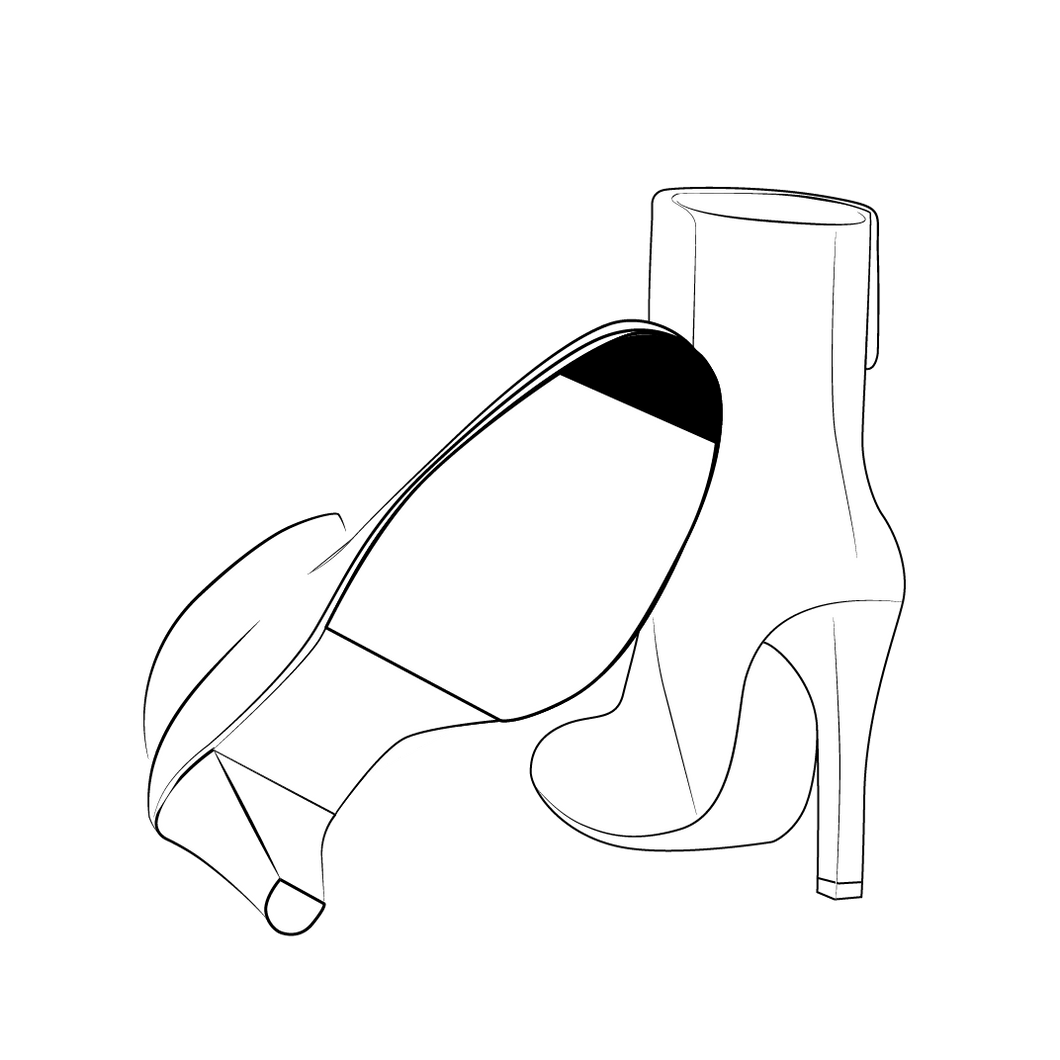 Sole Tip & Heels Protection