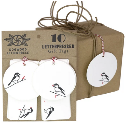Letterpress-Printed Holiday Cards & Tags