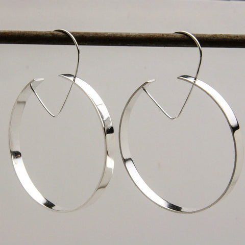OPEN HOOP EARRINGS - JewellerAJGreen