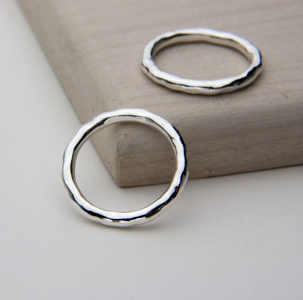 DIMPLE RING-Stack Them Up!