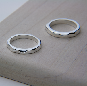 SMALL SWELL RING - Stack Them Up!