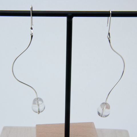 SINUATE PENDANT EARRINGS