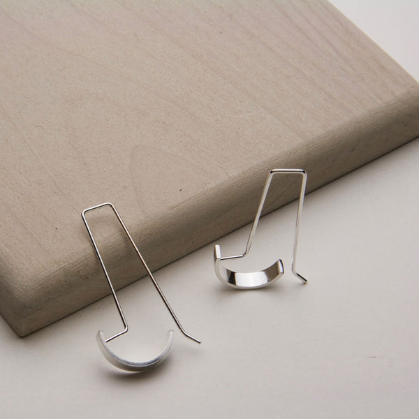 SQ DOC EARRINGS - JewellerAJGreen