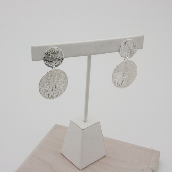 TWO MOON EARRINGS - JewellerAJGreen