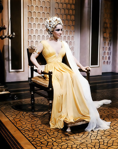 Elizabeth Taylor Tribute: Cleopatra and the Klismos Chair