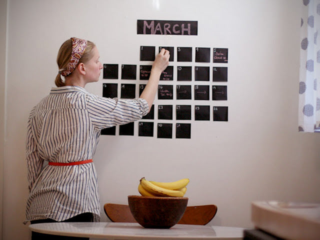 Decorating with Chalkboards Gets Creative!