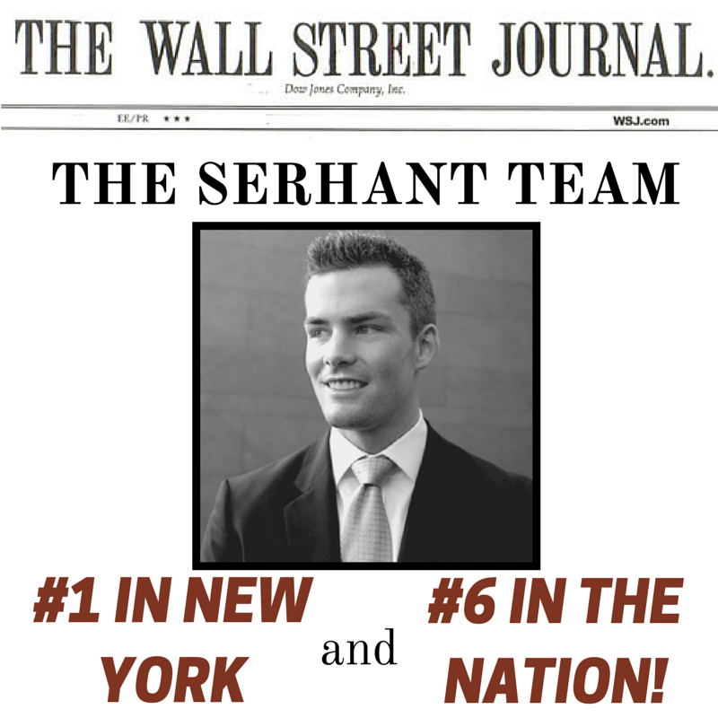 Media: The Serhant Team named the #1 TEAM by Sales Volume in New York and #6 in the ENTIRE COUNTRY!