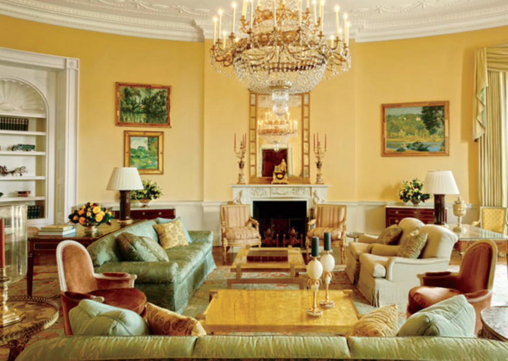 A Look into the White House Interior Design