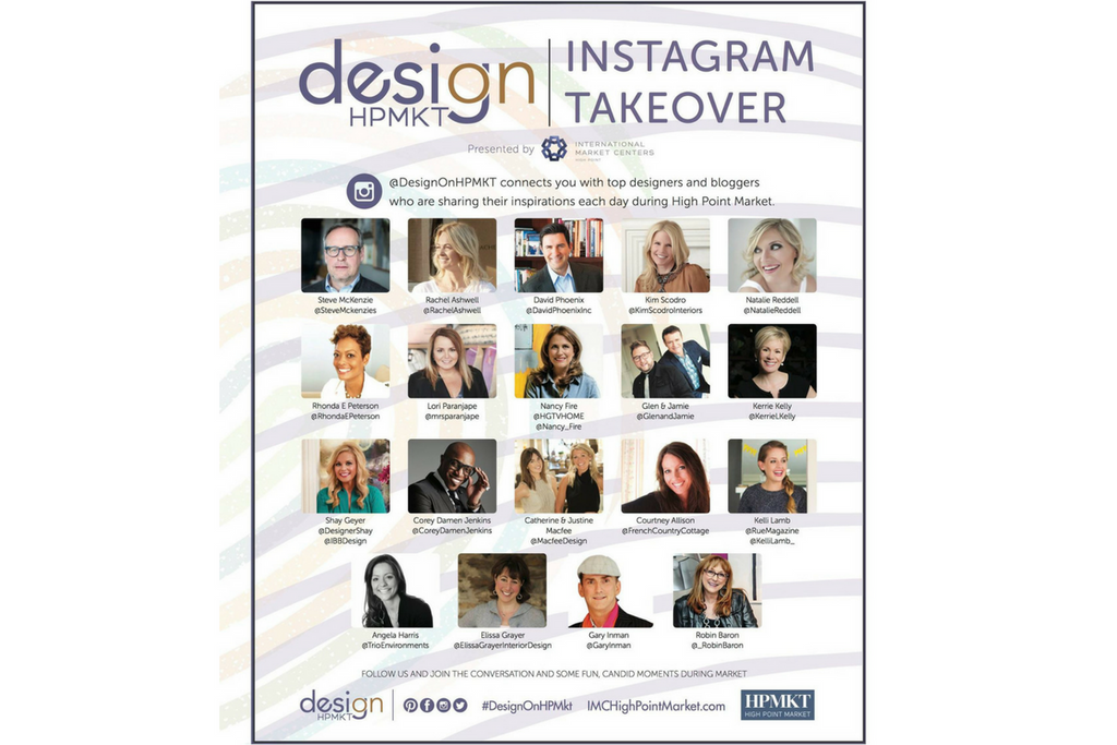 My Instagram Takeover at Design on High Point Market!