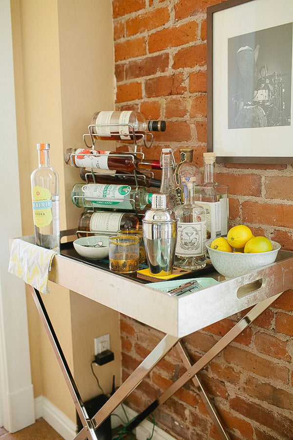 Simplifying Entertaining: How To Stock A Bar Cart