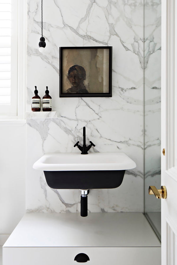 Tuesday's Trends: White Marble Drama