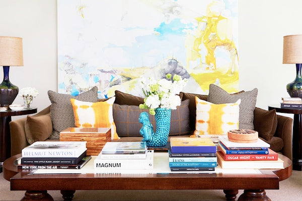 Design Insider: Decorating Above The Sofa With Wall Art