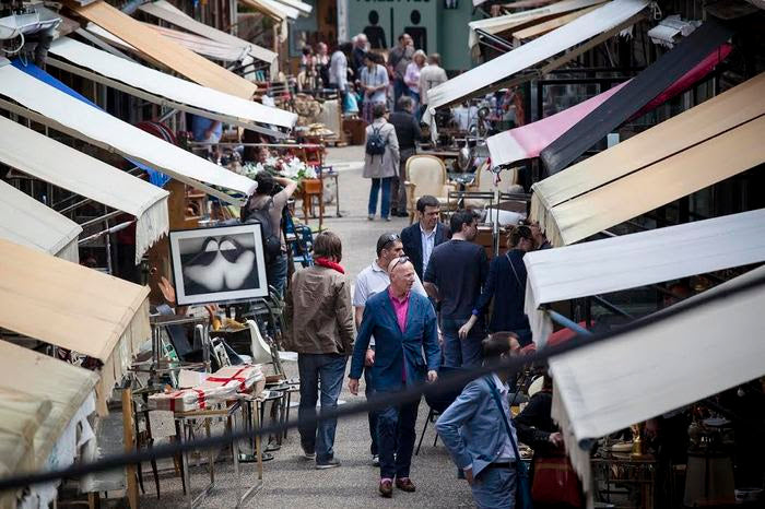 Through My Eyes: Marche Aux Puces + The Best Place for European Finds