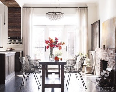 Keri Russell brownstone, Elle Decor | Simplifying Fabulous
